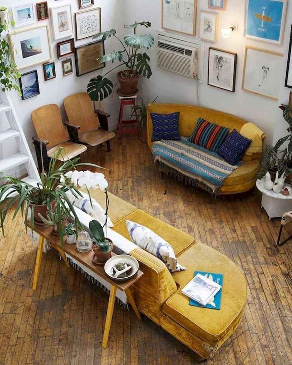 50 elegant rustic apartment living room decor ideas (11)