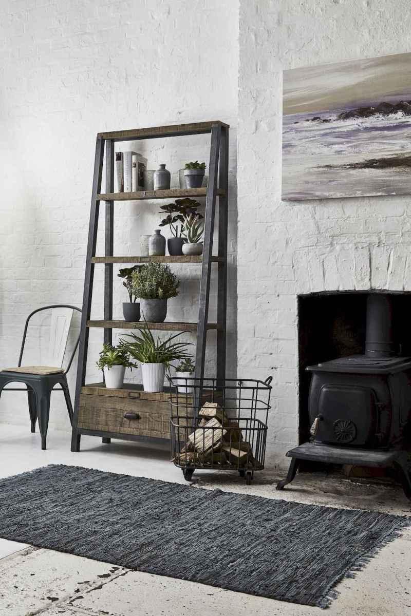 50 elegant rustic apartment living room decor ideas (17)