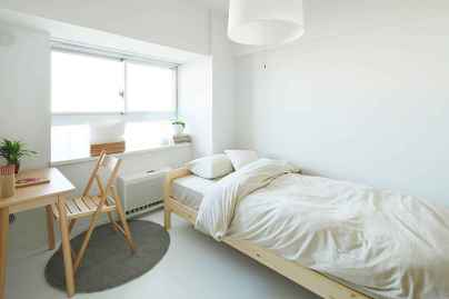 50 stunning vintage apartment bedroom decor ideas (42)