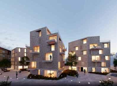 50 marvelous modern facade apartment decor ideas (40)