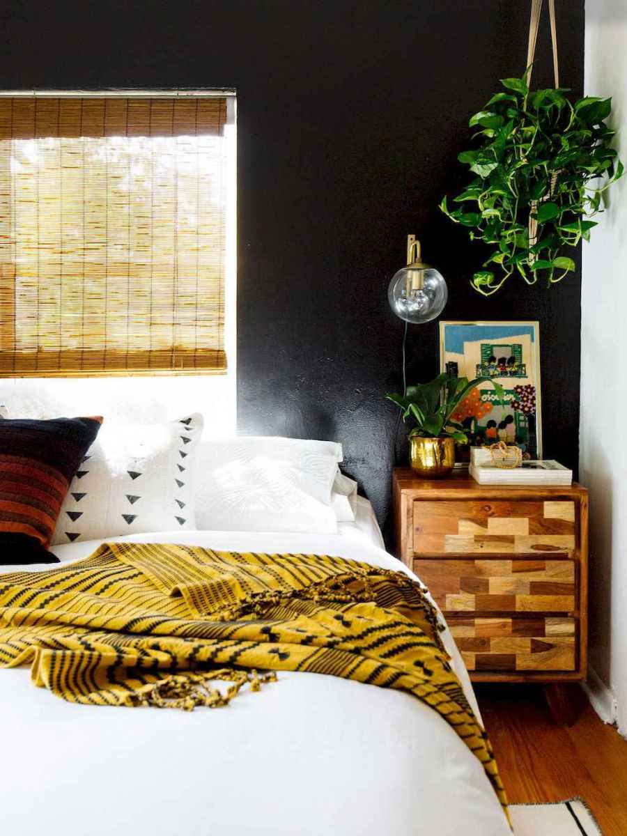 60 cool eclectic master bedroom decor ideas (11)