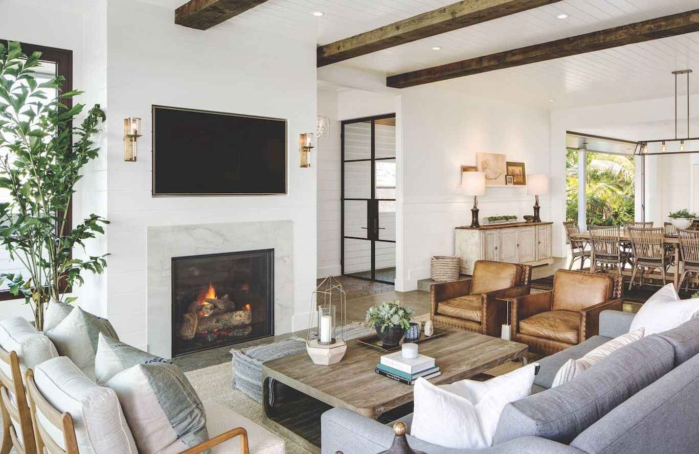 images of modern farmhouse living rooms room and bedroom paint ideas 60 cool decor 48 roomadness com