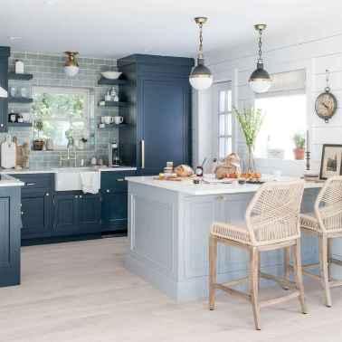 60 fancy farmhouse kitchen backsplash decor ideas (13)