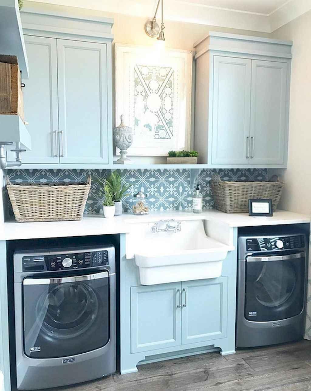60 fancy farmhouse kitchen backsplash decor ideas (47) - Roomadness.com