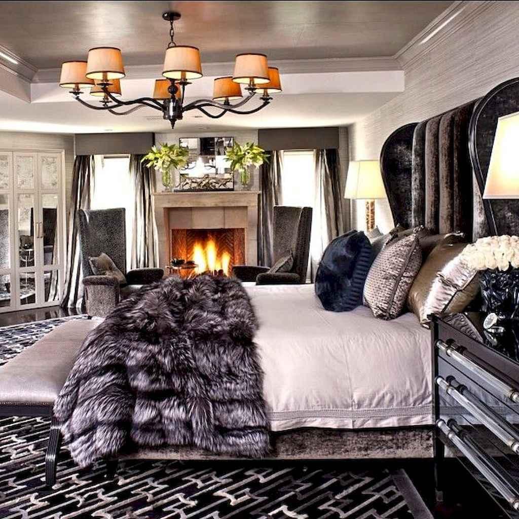 60 glamorous dream master bedroom decor ideas (30)