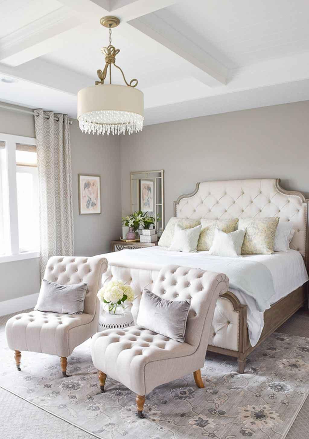 Romantic Bedroom Curtains: 60 Romantic Master Bedroom Decor Ideas (50)