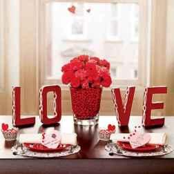 66 romantic valentines table settings decor ideas (10)