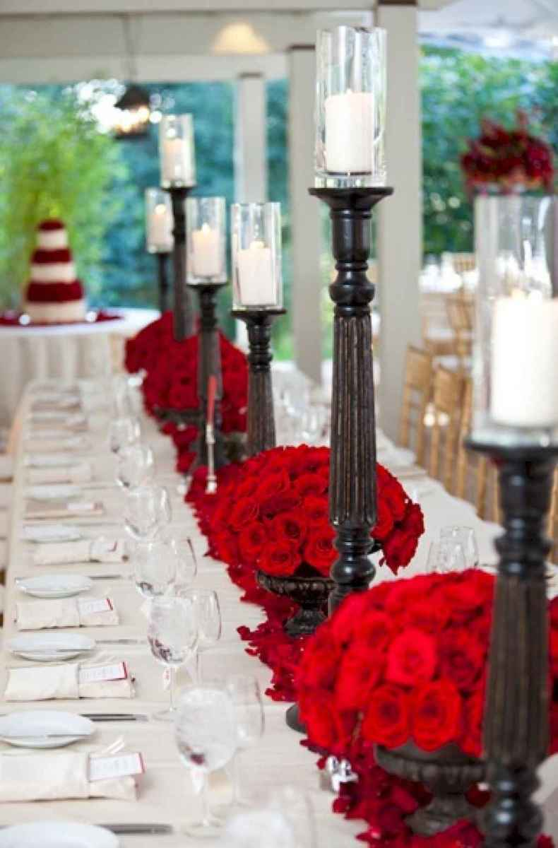 66 romantic valentines table settings decor ideas (62)