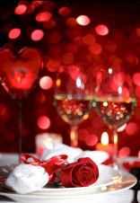 66 romantic valentines table settings decor ideas (8)