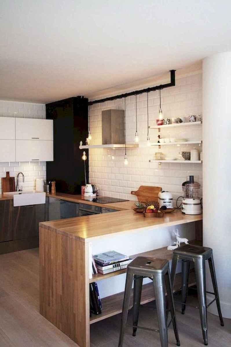 70 cool modern apartment kitchen decor ideas (45)