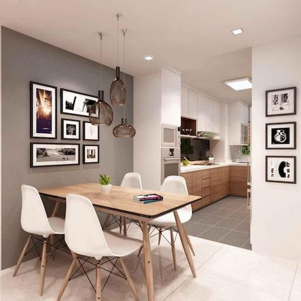 70 cool modern apartment kitchen decor ideas (55)