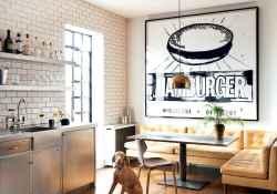 70 cool modern apartment kitchen decor ideas (71)