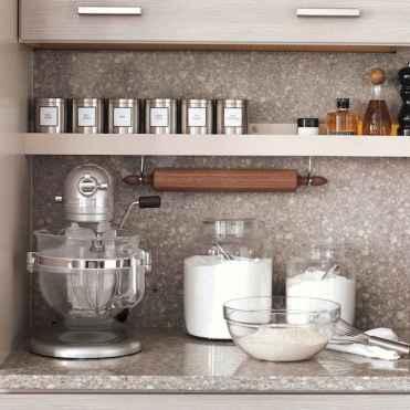 70 surprising apartment kitchen organization decor ideas (44)