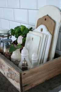 70 surprising apartment kitchen organization decor ideas (7)