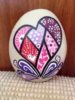 80 romantic valentine painted rocks ideas diy for girl (8)
