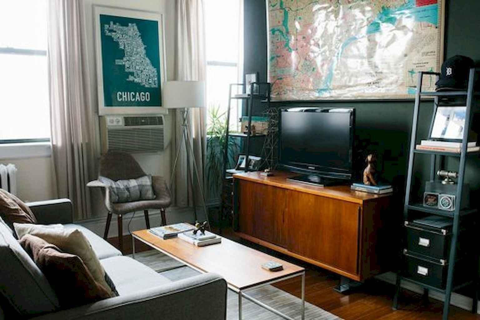 14 Small Living Room Decorating Ideas: 80 Smart Solution Small Apartment Living Room Decor Ideas