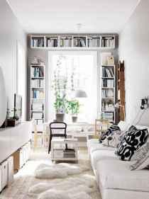 80 smart solution small apartment living room decor ideas (7)