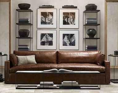 80 smart solution small apartment living room decor ideas (74)