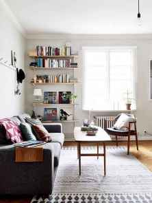 80 smart solution small apartment living room decor ideas (80)