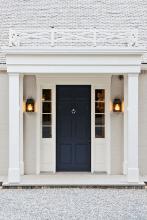 90 awesome front door farmhouse entrance decor ideas (30)