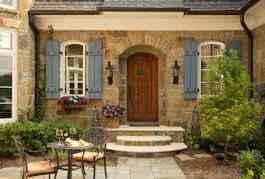 90 awesome front door farmhouse entrance decor ideas (44)