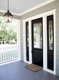 90 awesome front door farmhouse entrance decor ideas (46)