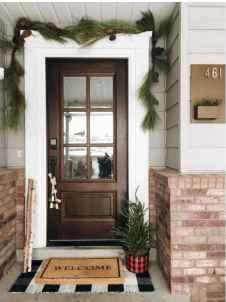 90 awesome front door farmhouse entrance decor ideas (94)
