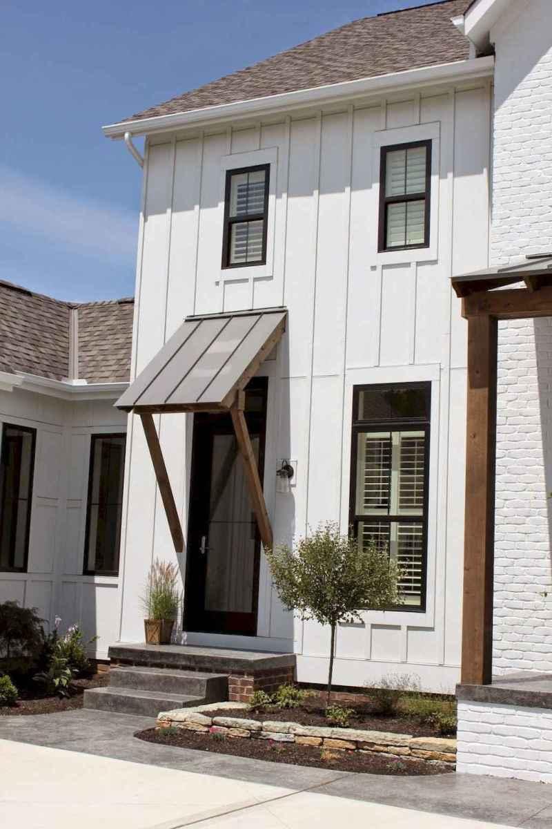 90 incredible modern farmhouse exterior design ideas (24 ... - photo#20