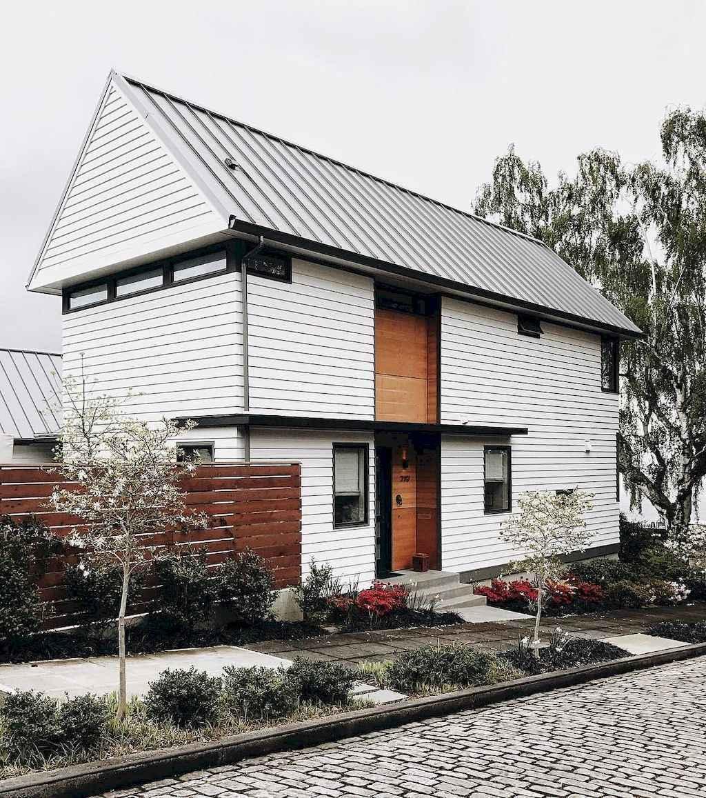 90 incredible modern farmhouse exterior design ideas (25 ... - photo#25