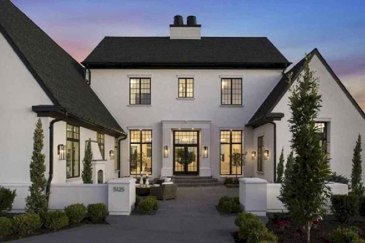 90 incredible modern farmhouse exterior design ideas (48 ... - photo#14