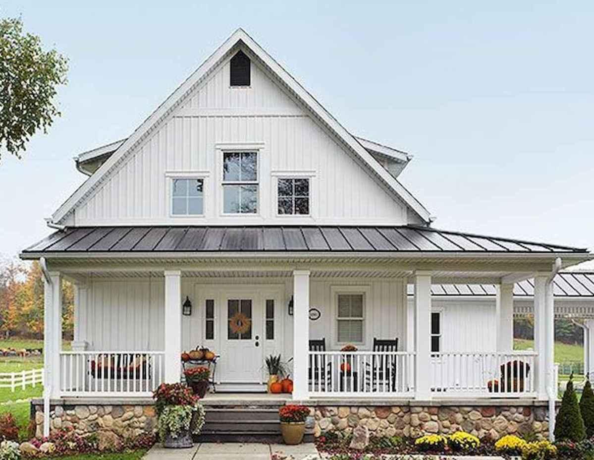 90 incredible modern farmhouse exterior design ideas (83 ... - photo#8