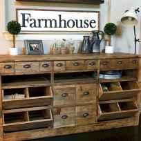 90 pretty farmhouse kitchen cabinet design ideas (4)