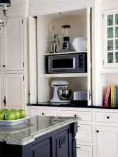 90 pretty farmhouse kitchen cabinet design ideas (42)