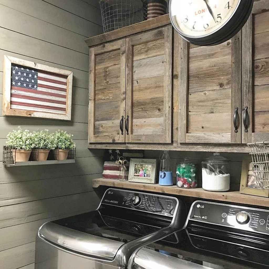 90 pretty farmhouse kitchen cabinet design ideas (7)