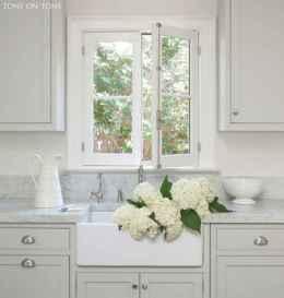 90 pretty farmhouse kitchen cabinet design ideas (80)