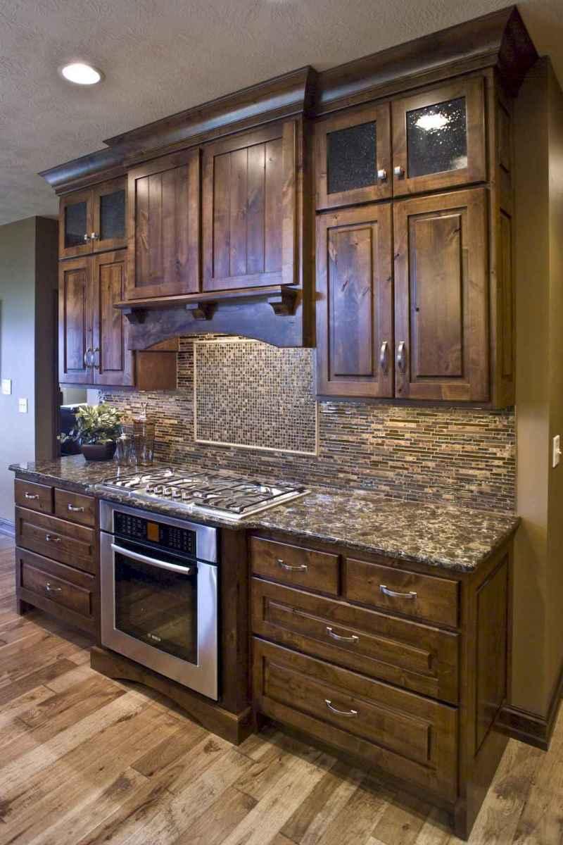 90 pretty farmhouse kitchen cabinet design ideas (90)