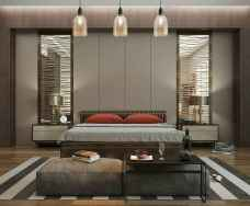 90 stunning modern master bedroom decor ideas (36)