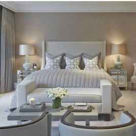 90 stunning modern master bedroom decor ideas (7)