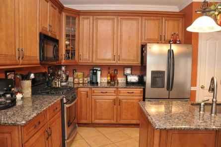 100 best oak kitchen cabinets ideas decoration for farmhouse style (103)