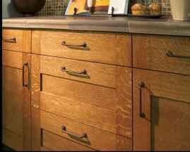 100 best oak kitchen cabinets ideas decoration for farmhouse style (13)