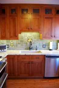 100 best oak kitchen cabinets ideas decoration for farmhouse style (29)