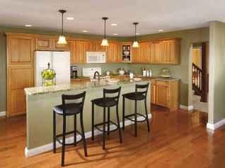 100 best oak kitchen cabinets ideas decoration for farmhouse style (42)