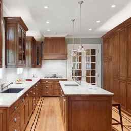 100 best oak kitchen cabinets ideas decoration for farmhouse style (48)