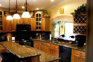 100 best oak kitchen cabinets ideas decoration for farmhouse style (52)