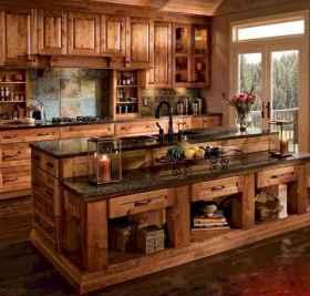 100 best oak kitchen cabinets ideas decoration for farmhouse style (7)