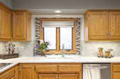 100 best oak kitchen cabinets ideas decoration for farmhouse style (82)