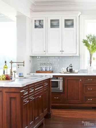 100 best oak kitchen cabinets ideas decoration for farmhouse style (90)