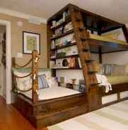 100+ cute loft beds college dorm room design ideas for girl (109)