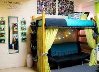 100+ cute loft beds college dorm room design ideas for girl (20)