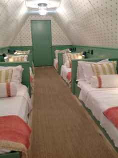 100+ cute loft beds college dorm room design ideas for girl (5)